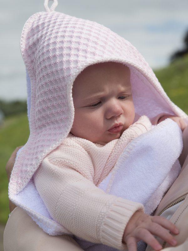 Kapuzenhandtuch Baby