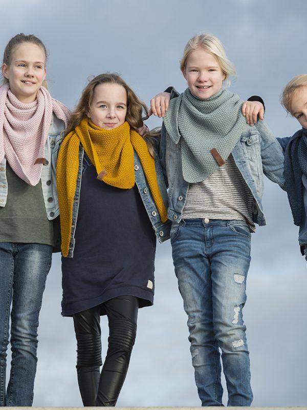 Strickschal Kinder